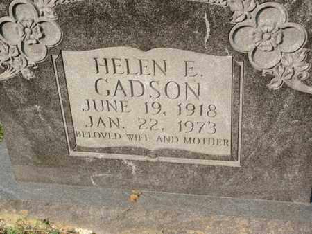 GADSON, HELEN E - Anderson County, Tennessee | HELEN E GADSON - Tennessee Gravestone Photos