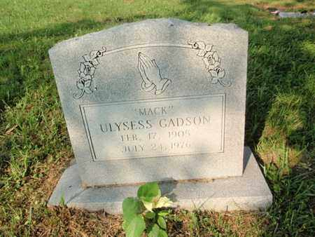 GADSON, ULYSESS - Anderson County, Tennessee | ULYSESS GADSON - Tennessee Gravestone Photos