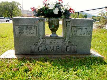 GAMBLE, JAMES ERNEST - Anderson County, Tennessee | JAMES ERNEST GAMBLE - Tennessee Gravestone Photos