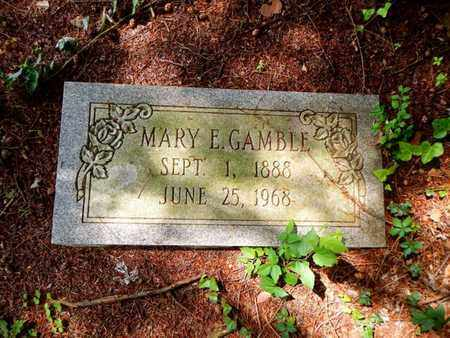 GAMBLE, MARY E - Anderson County, Tennessee | MARY E GAMBLE - Tennessee Gravestone Photos