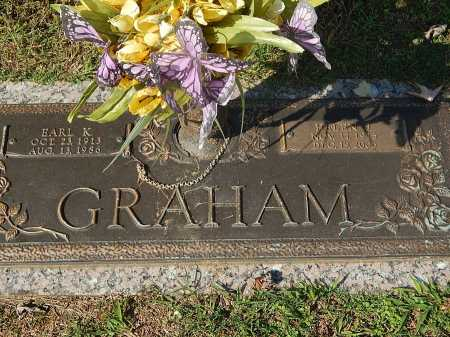 GRAHAM, EARL K - Anderson County, Tennessee | EARL K GRAHAM - Tennessee Gravestone Photos