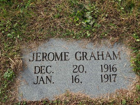 GRAHAM, JEROME - Anderson County, Tennessee | JEROME GRAHAM - Tennessee Gravestone Photos