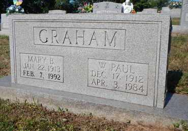 GRAHAM, W PAUL - Anderson County, Tennessee | W PAUL GRAHAM - Tennessee Gravestone Photos