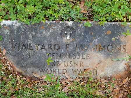 HAMMONS, VINEYARD F - Anderson County, Tennessee | VINEYARD F HAMMONS - Tennessee Gravestone Photos