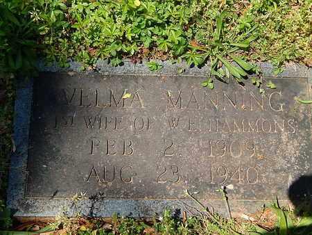 HAMMONS, VELMA - Anderson County, Tennessee | VELMA HAMMONS - Tennessee Gravestone Photos