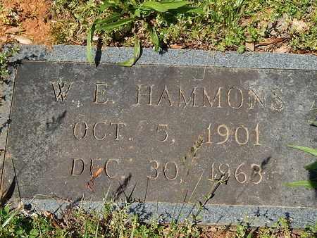 HAMMONS, W E - Anderson County, Tennessee | W E HAMMONS - Tennessee Gravestone Photos
