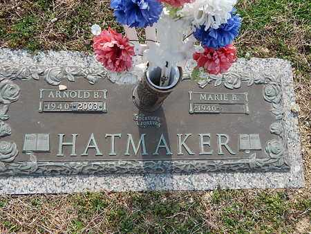HATMAKER, ARNOLD B - Anderson County, Tennessee | ARNOLD B HATMAKER - Tennessee Gravestone Photos
