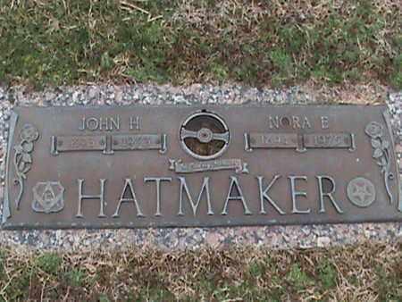 HATMAKER, NORA ETTA - Anderson County, Tennessee | NORA ETTA HATMAKER - Tennessee Gravestone Photos