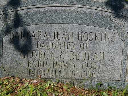HOSKINS, BARBARA JEAN - Anderson County, Tennessee | BARBARA JEAN HOSKINS - Tennessee Gravestone Photos