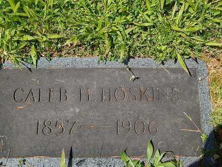 HOSKINS, CALEB H - Anderson County, Tennessee   CALEB H HOSKINS - Tennessee Gravestone Photos