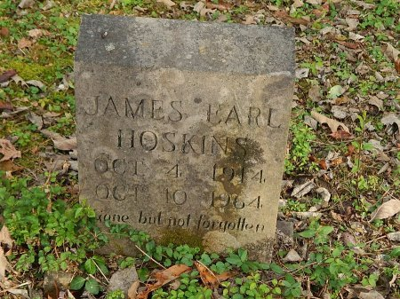 HOSKINS, JAMES EARL - Anderson County, Tennessee | JAMES EARL HOSKINS - Tennessee Gravestone Photos