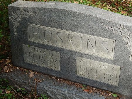 HOSKINS, WILLIAM C - Anderson County, Tennessee | WILLIAM C HOSKINS - Tennessee Gravestone Photos