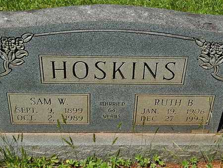 HOSKINS, RUTH B - Anderson County, Tennessee | RUTH B HOSKINS - Tennessee Gravestone Photos