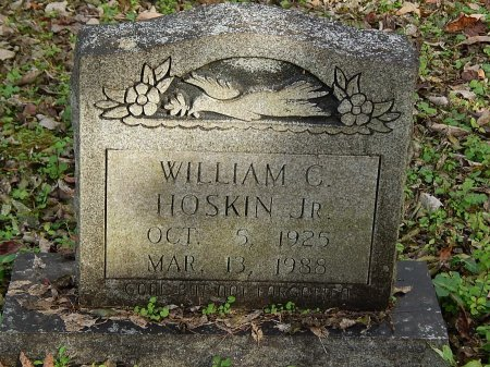HOSKINS JR, WILLIAM C - Anderson County, Tennessee | WILLIAM C HOSKINS JR - Tennessee Gravestone Photos