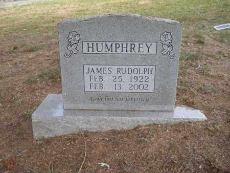 HUMPHREY, JAMES RUDOLPH - Anderson County, Tennessee | JAMES RUDOLPH HUMPHREY - Tennessee Gravestone Photos