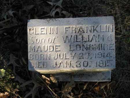 LONGMIRE, GLENN FRANKLIN - Anderson County, Tennessee | GLENN FRANKLIN LONGMIRE - Tennessee Gravestone Photos