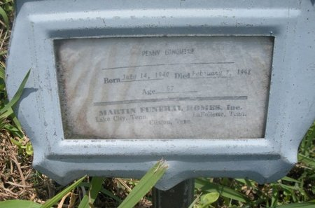 LONGMIRE, PENNY - Anderson County, Tennessee | PENNY LONGMIRE - Tennessee Gravestone Photos