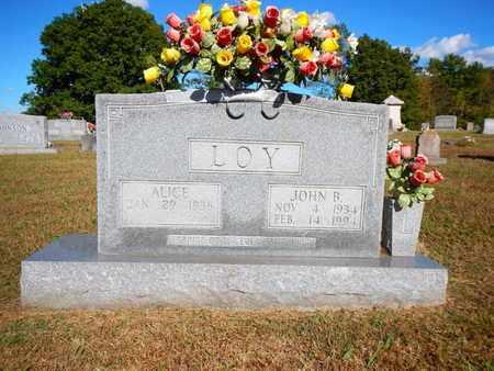 LOY, JOHN B - Anderson County, Tennessee | JOHN B LOY - Tennessee Gravestone Photos