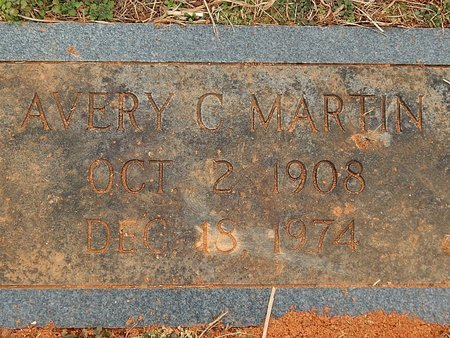 MARTIN, AVERY - Anderson County, Tennessee | AVERY MARTIN - Tennessee Gravestone Photos