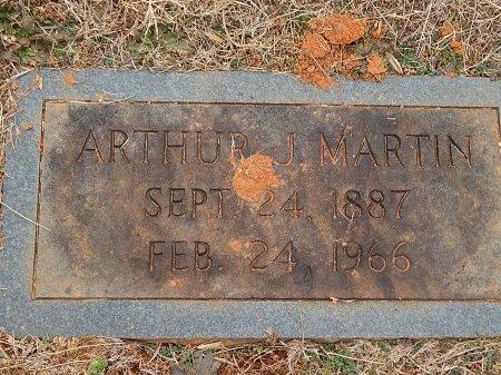 MARTIN, ARTHUR J - Anderson County, Tennessee | ARTHUR J MARTIN - Tennessee Gravestone Photos