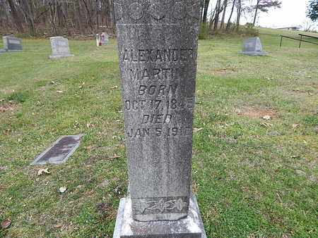MARTIN, ALEXANDER - Anderson County, Tennessee   ALEXANDER MARTIN - Tennessee Gravestone Photos
