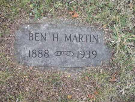 MARTIN, BEN H - Anderson County, Tennessee   BEN H MARTIN - Tennessee Gravestone Photos