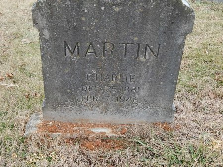 MARTIN, CHARLIE - Anderson County, Tennessee   CHARLIE MARTIN - Tennessee Gravestone Photos