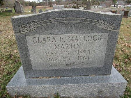 MARTIN, CLARA E - Anderson County, Tennessee | CLARA E MARTIN - Tennessee Gravestone Photos