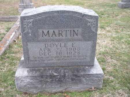 MARTIN, DOYLE E - Anderson County, Tennessee | DOYLE E MARTIN - Tennessee Gravestone Photos