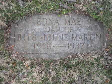 MARTIN, EDNA MAE - Anderson County, Tennessee | EDNA MAE MARTIN - Tennessee Gravestone Photos