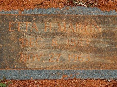 MARTIN, ETTA H - Anderson County, Tennessee   ETTA H MARTIN - Tennessee Gravestone Photos