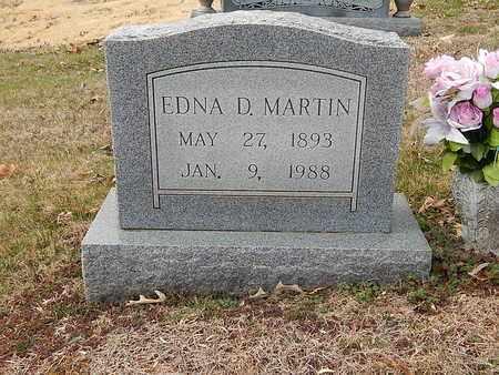 MARTIN, EDNA D - Anderson County, Tennessee   EDNA D MARTIN - Tennessee Gravestone Photos