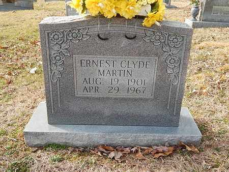 MARTIN, ERNEST CLYDE - Anderson County, Tennessee   ERNEST CLYDE MARTIN - Tennessee Gravestone Photos