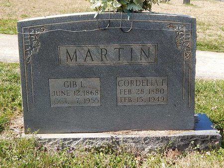 MARTIN, GILBERT L - Anderson County, Tennessee | GILBERT L MARTIN - Tennessee Gravestone Photos