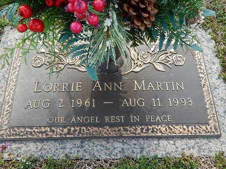 MARTIN, LORRIE ANN - Anderson County, Tennessee | LORRIE ANN MARTIN - Tennessee Gravestone Photos