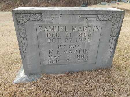 MARTIN, SAMUEL - Anderson County, Tennessee | SAMUEL MARTIN - Tennessee Gravestone Photos