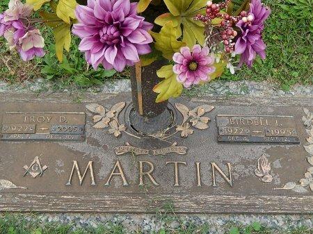 MARTIN, BIRDELL L - Anderson County, Tennessee | BIRDELL L MARTIN - Tennessee Gravestone Photos