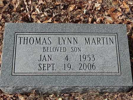 MARTIN, THOMAS LYNN - Anderson County, Tennessee | THOMAS LYNN MARTIN - Tennessee Gravestone Photos