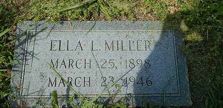 MILLER, ELLA L - Anderson County, Tennessee   ELLA L MILLER - Tennessee Gravestone Photos