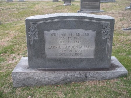 MILLER, CARRIE - Anderson County, Tennessee   CARRIE MILLER - Tennessee Gravestone Photos