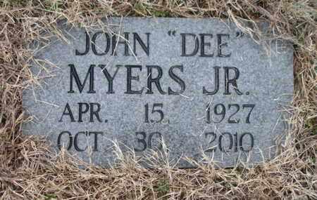 MYERS JR, JOHN - Anderson County, Tennessee | JOHN MYERS JR - Tennessee Gravestone Photos
