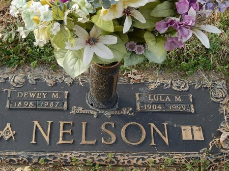 NELSON, DEWEY M - Anderson County, Tennessee | DEWEY M NELSON - Tennessee Gravestone Photos
