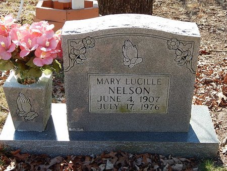 NELSON, MARY LUCILLE - Anderson County, Tennessee | MARY LUCILLE NELSON - Tennessee Gravestone Photos