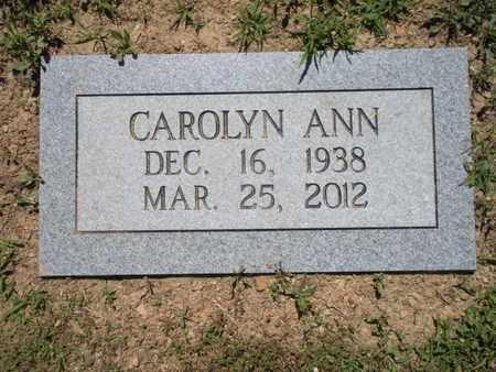 OGLE, CAROLYN ANN - Anderson County, Tennessee | CAROLYN ANN OGLE - Tennessee Gravestone Photos