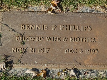 PHILLIPS, BENNIE P - Anderson County, Tennessee   BENNIE P PHILLIPS - Tennessee Gravestone Photos
