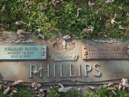 PHILLIPS, EUNICE A (BERTIE) - Anderson County, Tennessee | EUNICE A (BERTIE) PHILLIPS - Tennessee Gravestone Photos