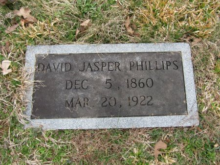 PHILLIPS, DAVID JASPER - Anderson County, Tennessee   DAVID JASPER PHILLIPS - Tennessee Gravestone Photos