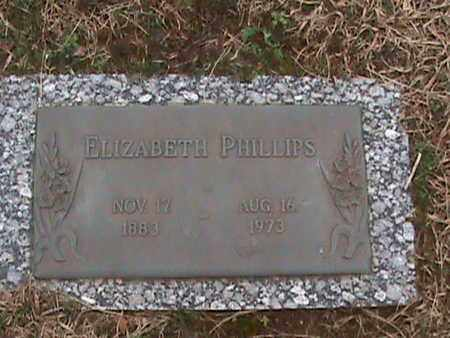 PHILLIPS, ELIZABETH - Anderson County, Tennessee | ELIZABETH PHILLIPS - Tennessee Gravestone Photos