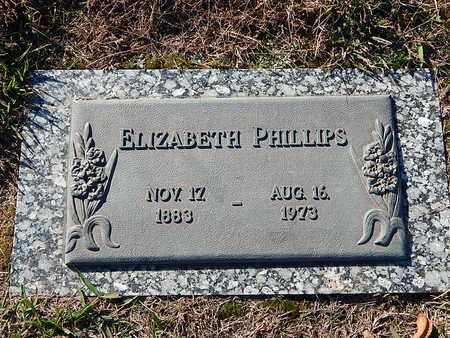 PHILLIPS, ELIZABETH - Anderson County, Tennessee   ELIZABETH PHILLIPS - Tennessee Gravestone Photos