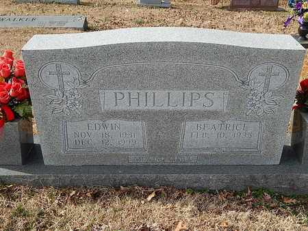 PHILLIPS, EDWIN - Anderson County, Tennessee   EDWIN PHILLIPS - Tennessee Gravestone Photos